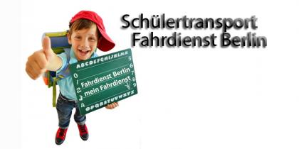 Fahrdienst Berlin, Beförderung  von Schülern und Schülerinnen sowie Kindern in Kindertageseinrichtungen